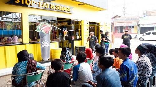 Cafe Babarafi Bintaro Grand Opening